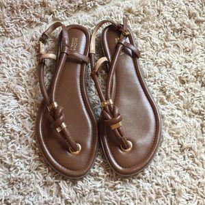 NWOT Michael Kors Thong Sandals